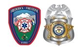 Frederick-Firestone Firestone Protection District & Firestone Police Department Logos