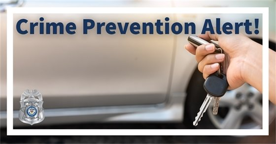 Crime Prevention Alert!  Auto Thefts on the Rise in Firestone