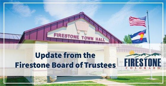 Update from the Firestone Board of Trustees