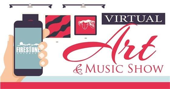 Virtual Art & Music Show Banner