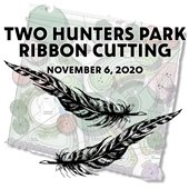 Two Hunters Park Ribbon Cutting