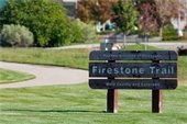 Firestone Trail Sign