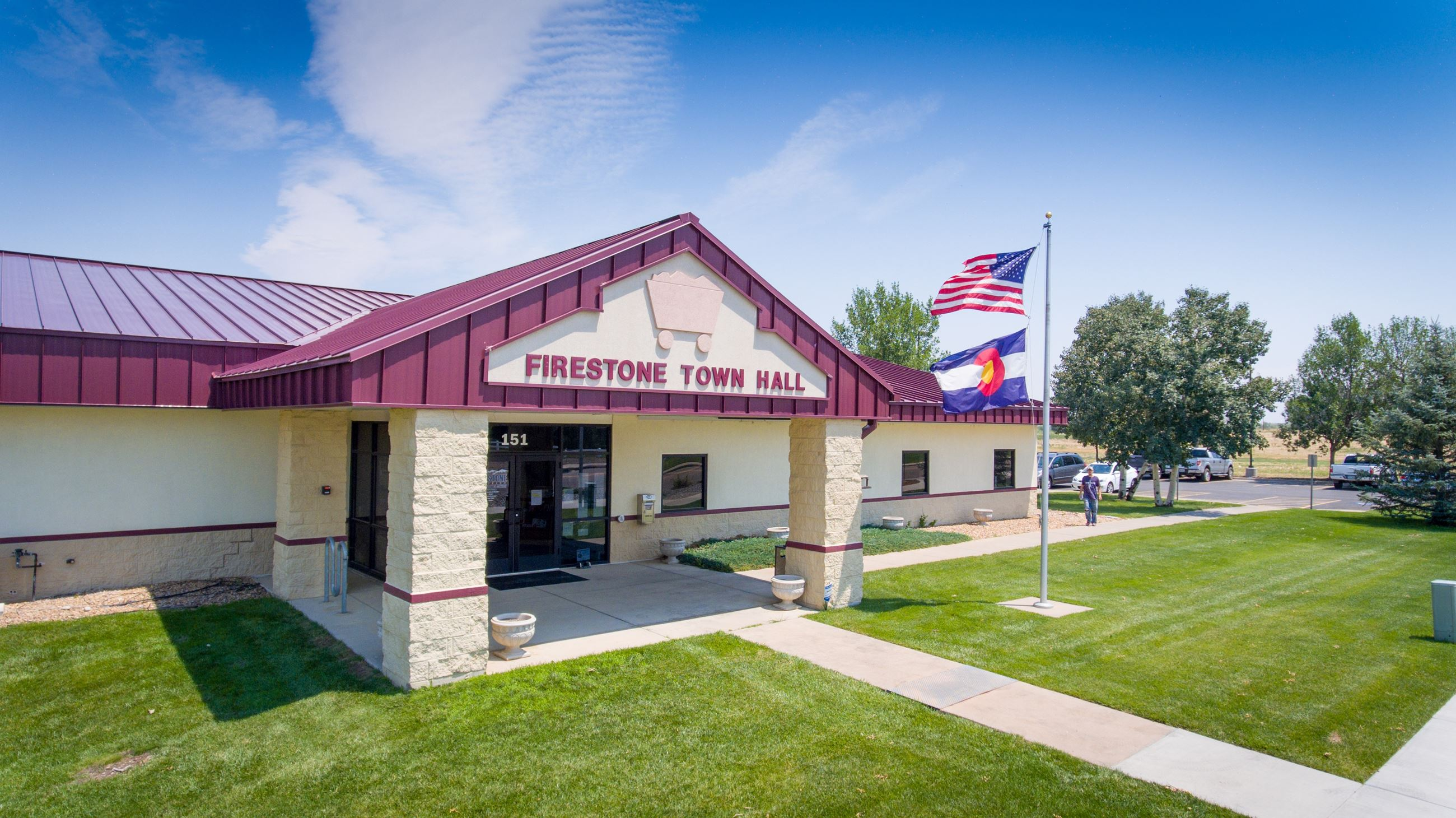 Town of Firestone Town Hall Building