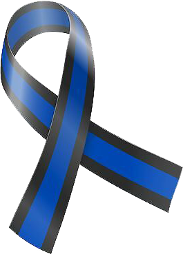 Thin Blue Line Ribbon