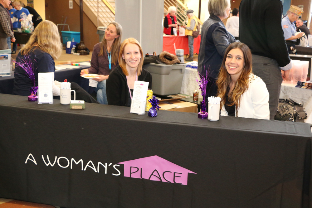 2016 Meet and Greet A Woman's Place booth
