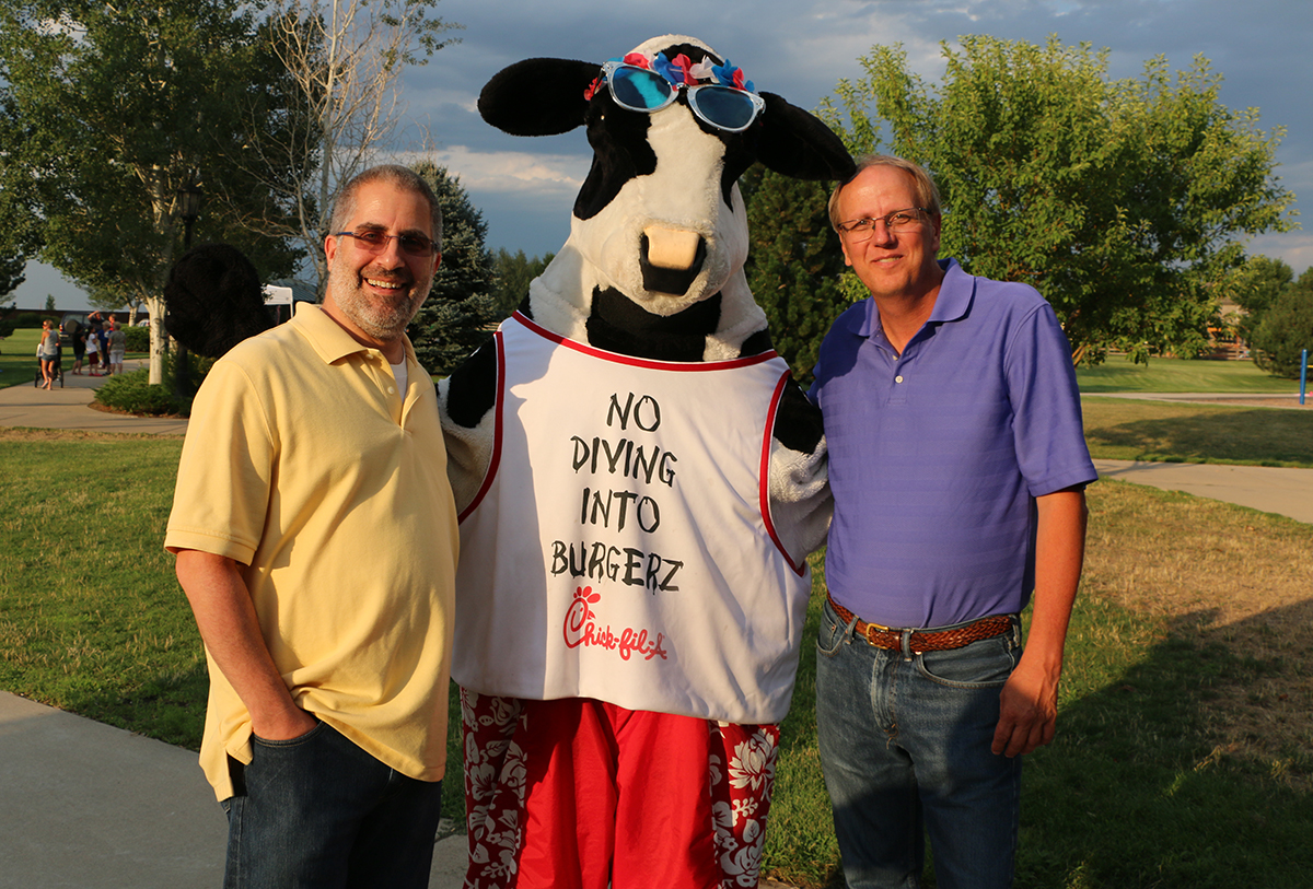 2016 National Night Out Chick Filet Cow